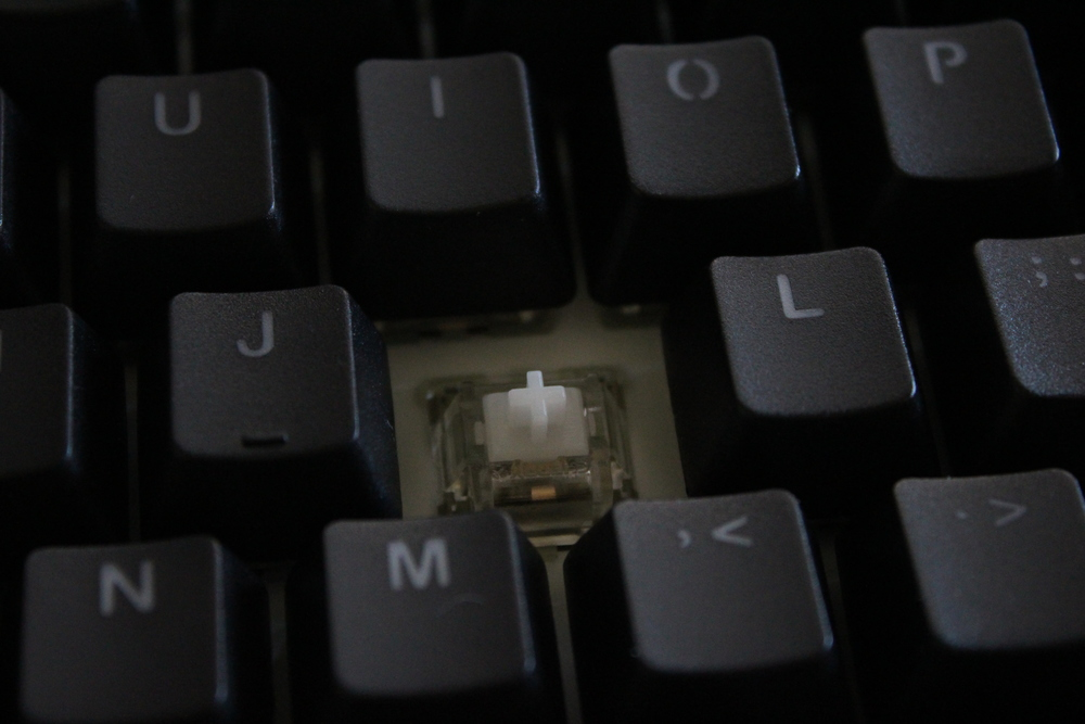 how to turn the ducky shine 3 spacebar lights on