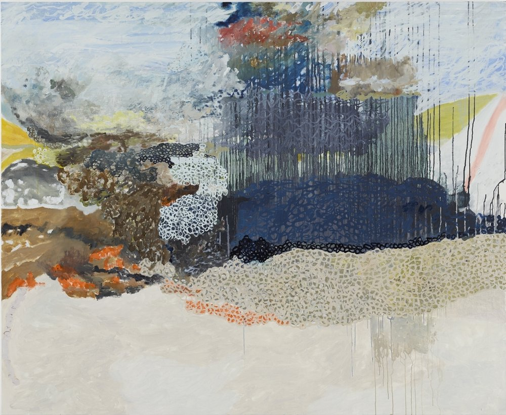 The Surrender , 2013  Oil on canvas  54 x 66 inches