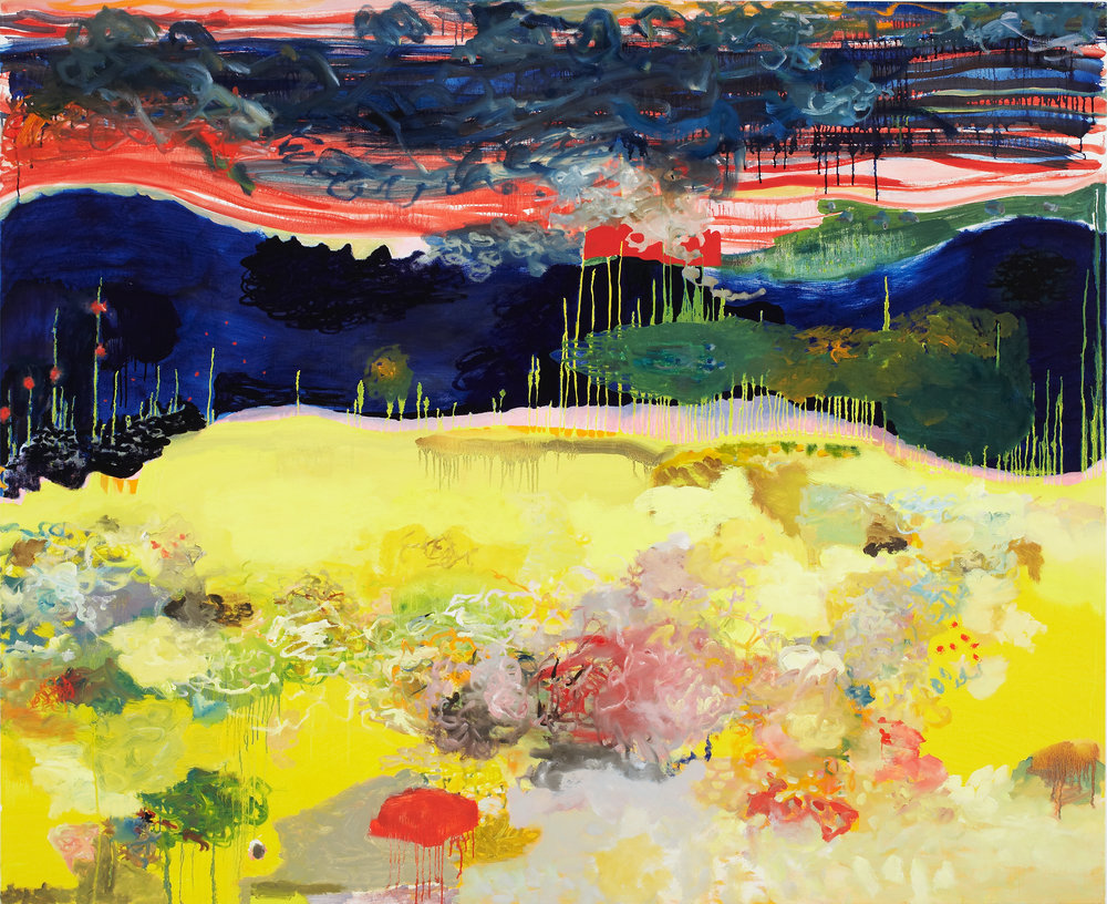 Merry Munk,  2006  oil on linen  54 x 66 inches