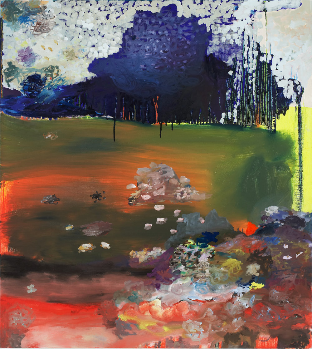 Recurrent Dream,  2006  oil on linen  38 x 34 inches