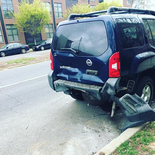 Did you know that you need collision coverage in case you are hit on the side of the road while parked AND they leave. #cityliving