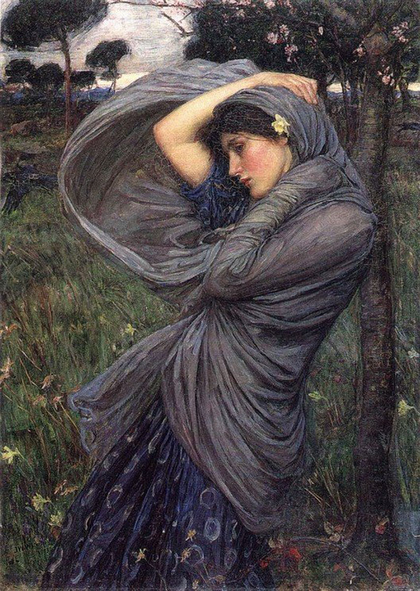 Waterhouse John William - boreas - 1903.jpg