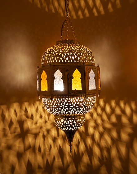 Moroccan Lamps Embassy Made Pierced Brass Moroccan Pendant Lamp With  Multicoloured Moorish Audiocablefo Light Collections