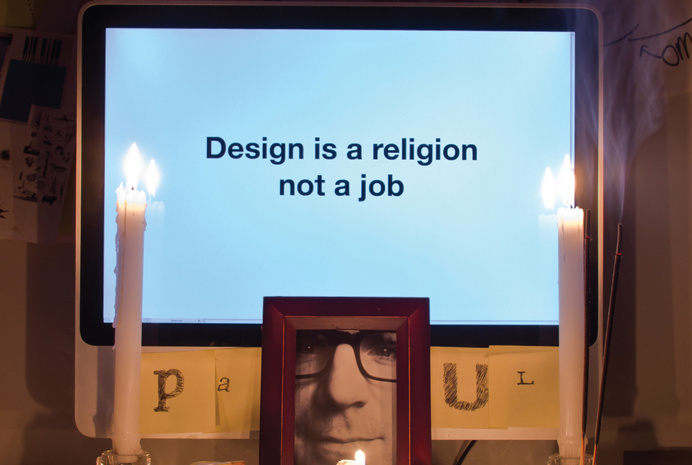 Design is a religion