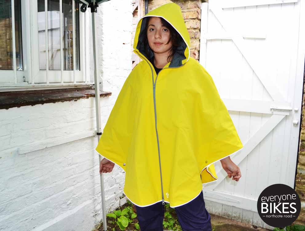 Otto Poncho - Bright Yellow