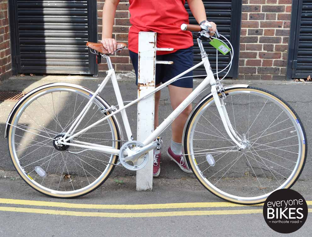 "Pashley Aurora Old English White 20"" £1295"