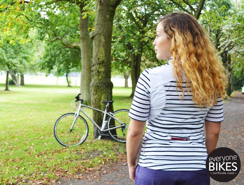 Café du Cycliste WOMEN'S SUZANNE JERSEY - WHITE