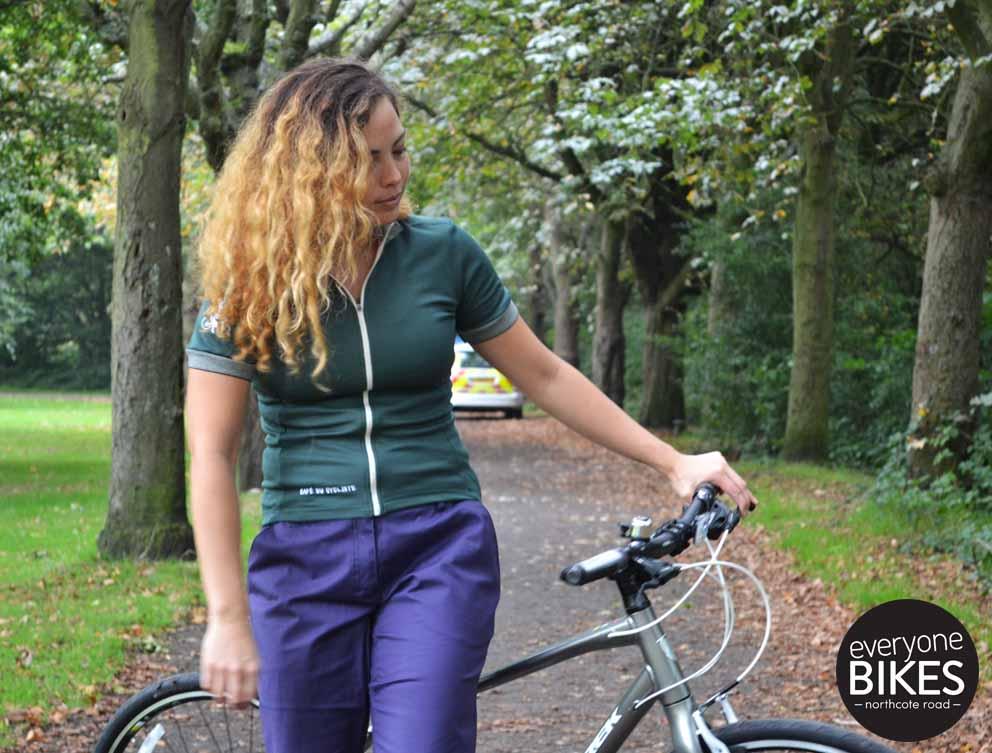 Café du Cycliste Violette Jersey
