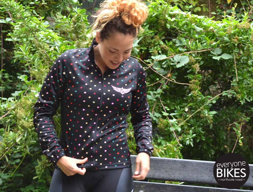 Morvélo Women's Daze Race Jersey & RUE BIB-SHORTS