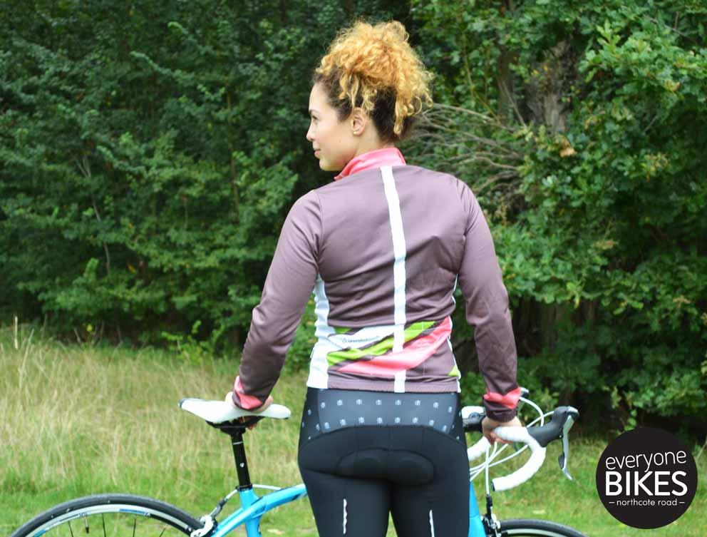 Morvelo Women's Flowline ThermoActive Longsleeve Jersey & MVCC Bib-shorts