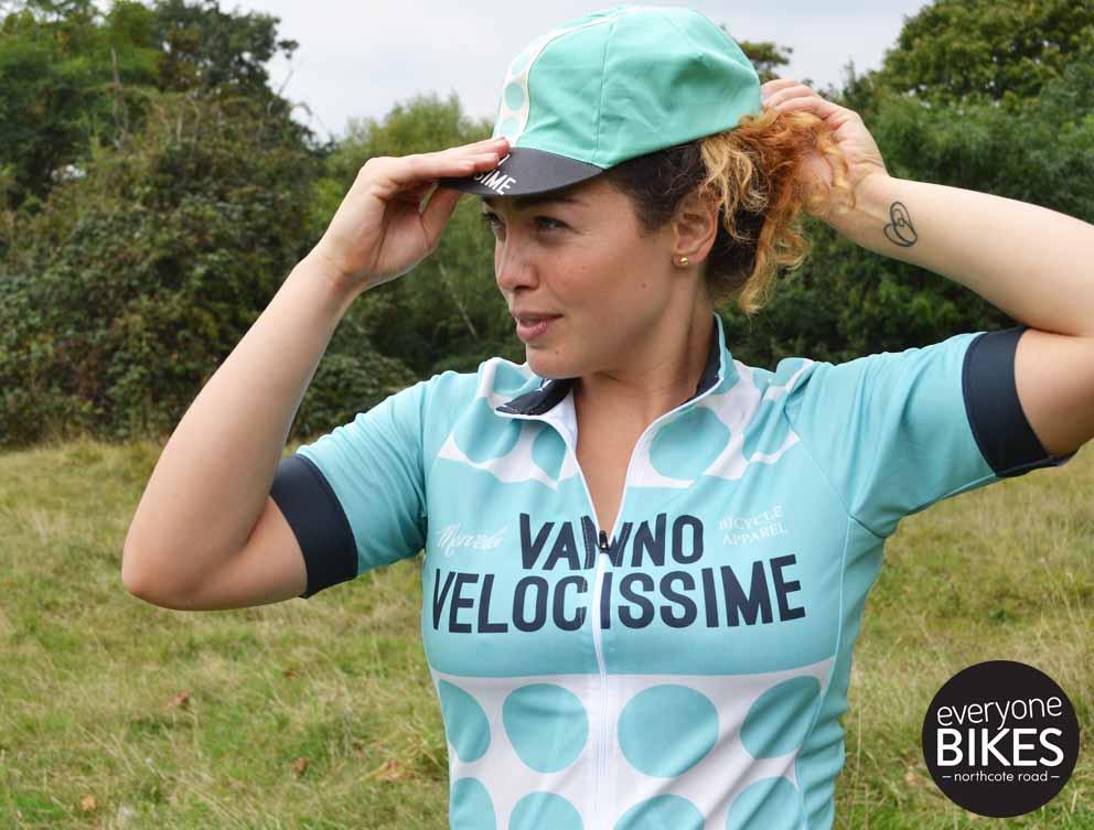 Morvelo VELOCISSIME WOMENS Jersey & Cycle Cap