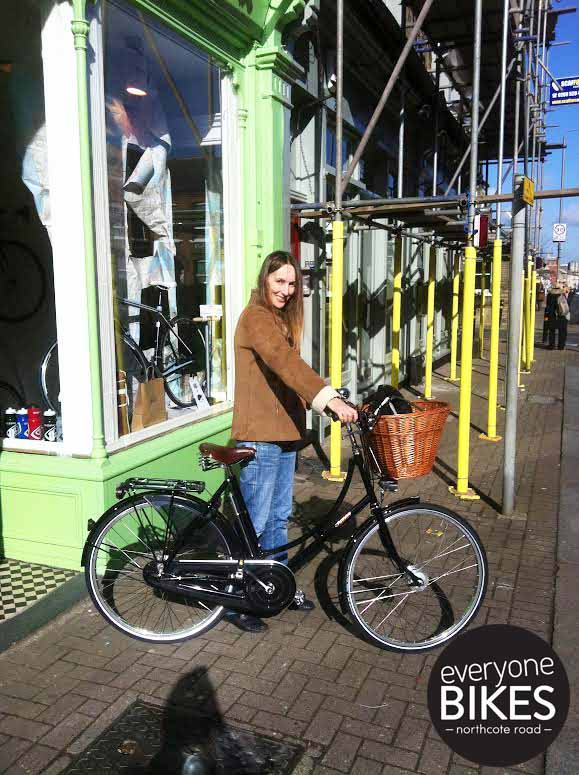 The lovely Rosalind took home her new Pashley  Princess Sovereign! Suits her perfectly, have fun!