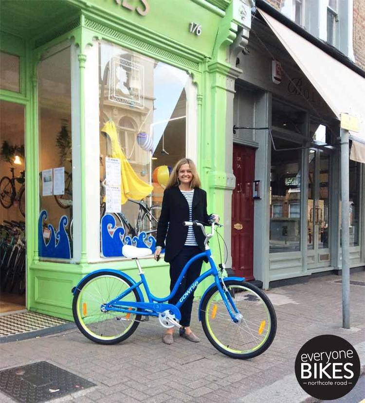 Check out Lola with her new Electra Bicycle Company Townie - pretty sure it was love at first sight! Have fun cruising!