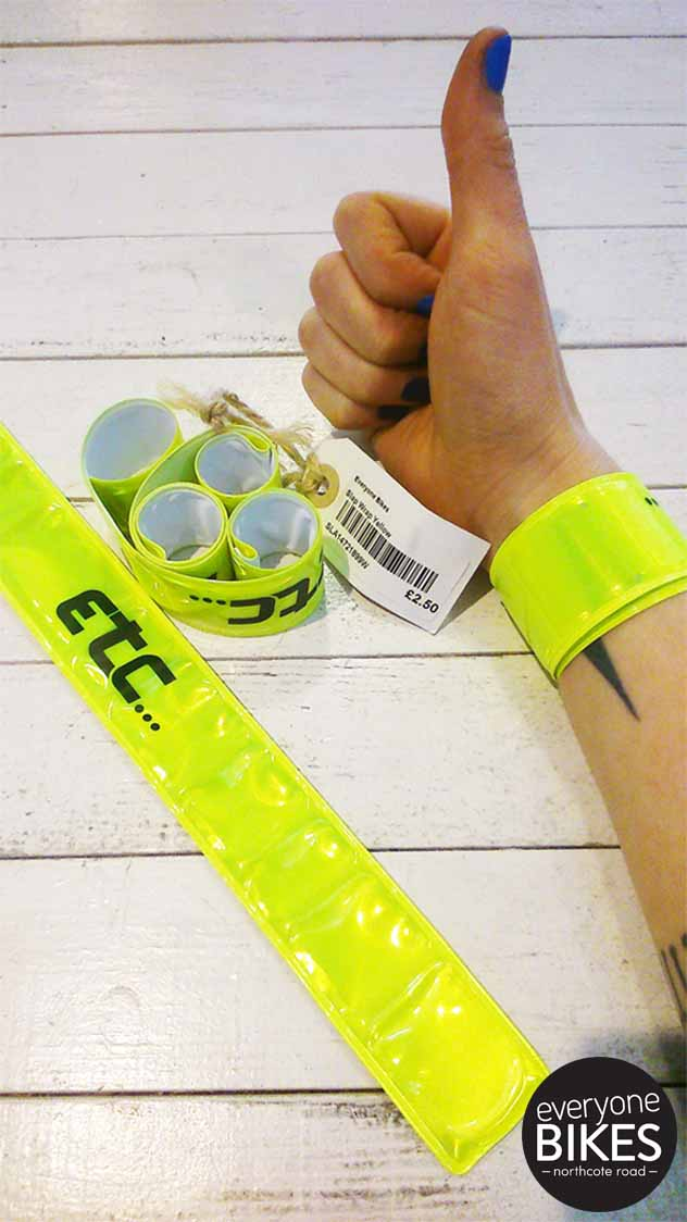 Hi-Vis Slap Bands