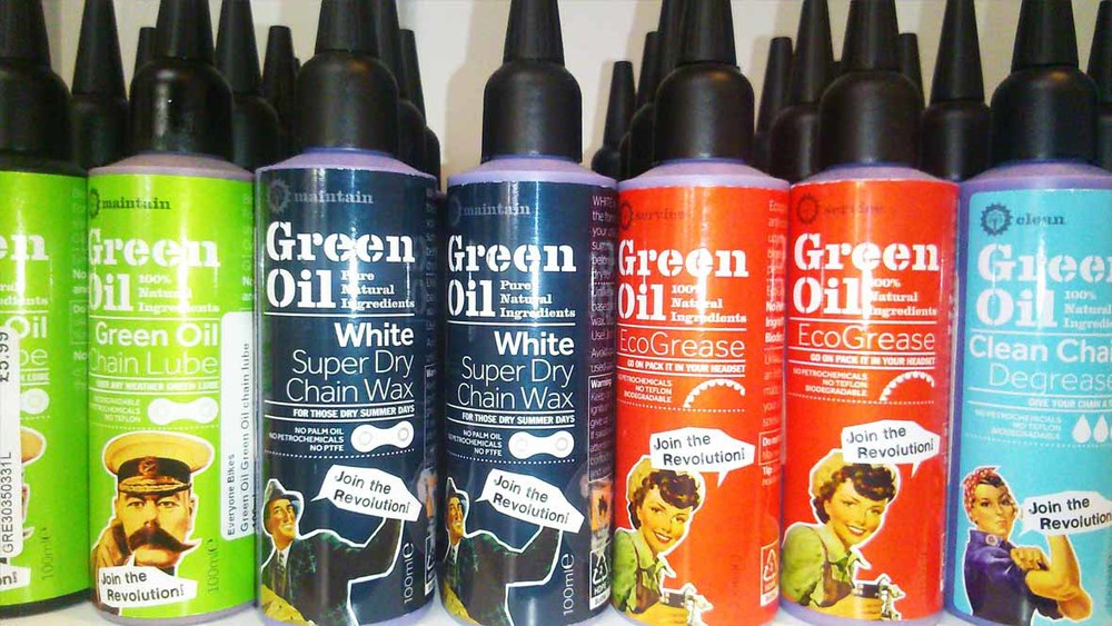 Green Oil Natural Bike Oils & Cleaners