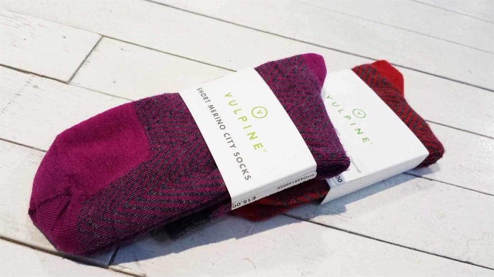 Vulpine Short Merino City Socks