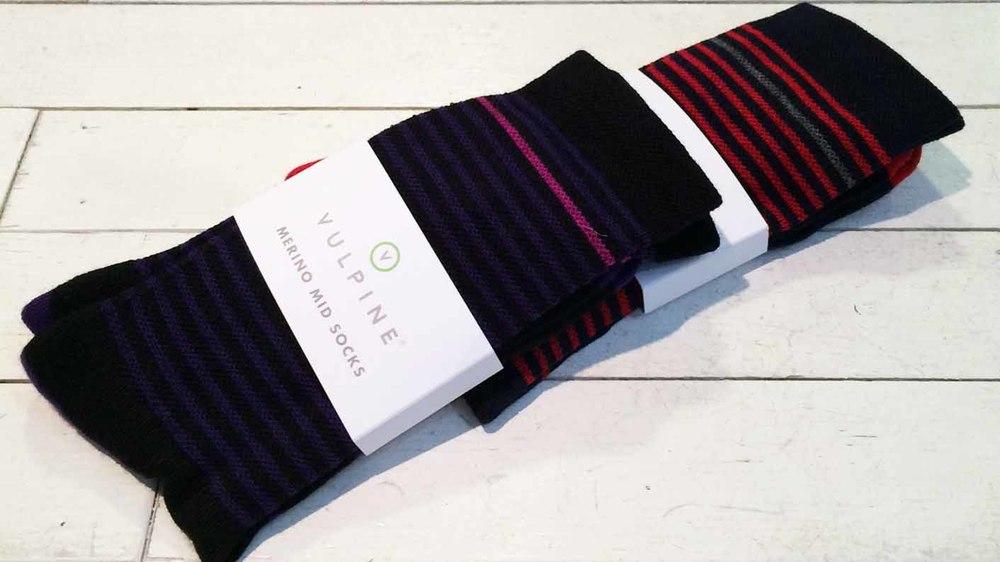 Vulpine Merino Mid Socks