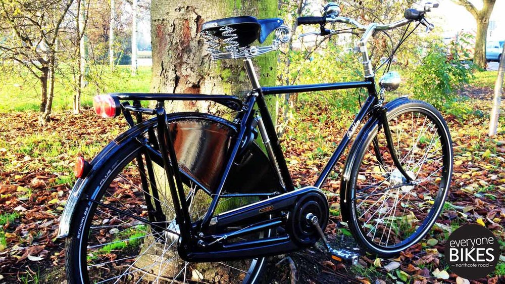Pashley Roadster Sovereign Black