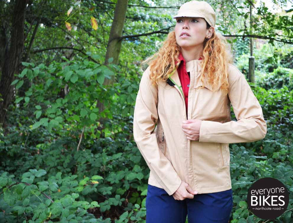 Vulpine Women's Harrington Rain Jacket - Sahara