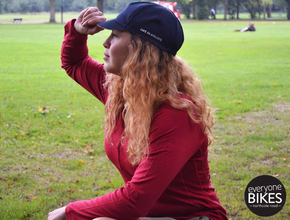Vulpine Women's Long Sleeve Merino Alpine Jersey - Claret