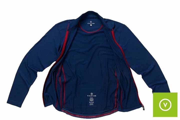 Vulpine Men's Long Sleeve Merino Alpine Jersey