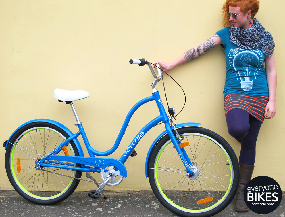 ELECTRA TOWNIE ORIGINAL 3I EQ CARIBBEAN BLUE £450