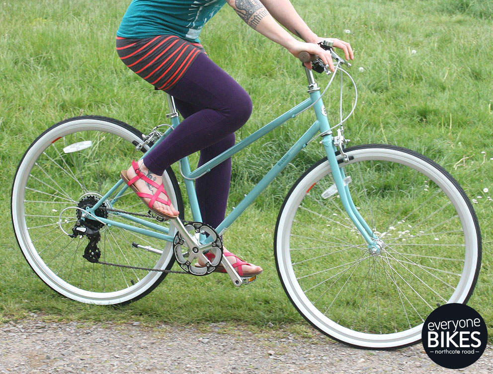 BOBBIN BLACKBIRD LIGHT TEAL £455 2015
