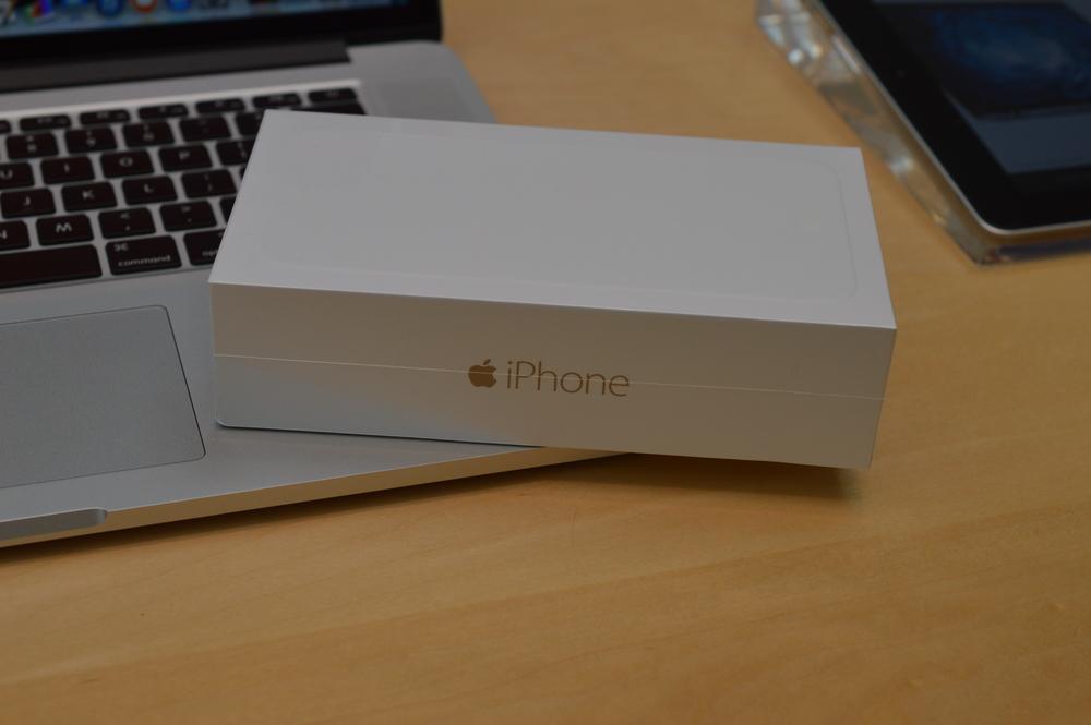 iPhone 6 Plus on Macbook Pro