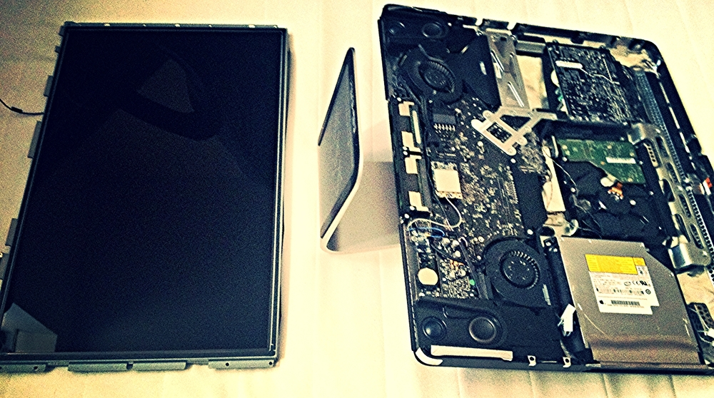 Upgrading iMac with new hard drive