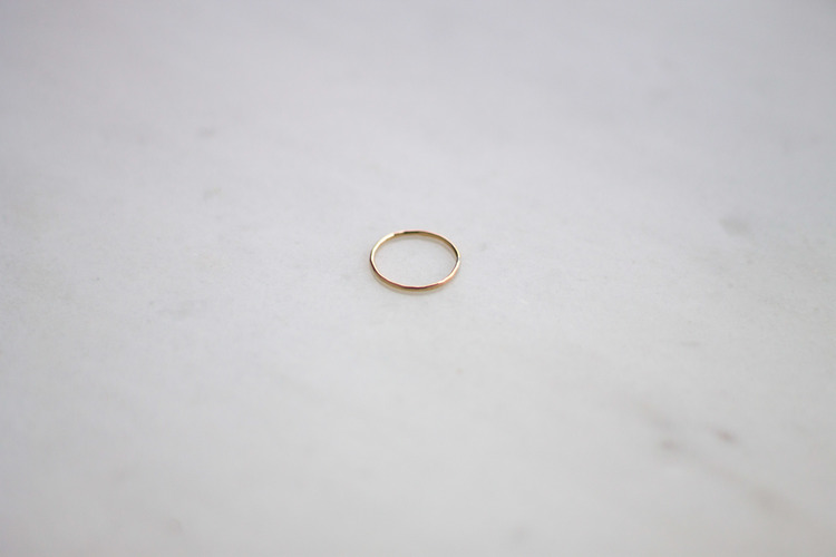 Consider the WLDFLWRS $15 Gold Filled Ring