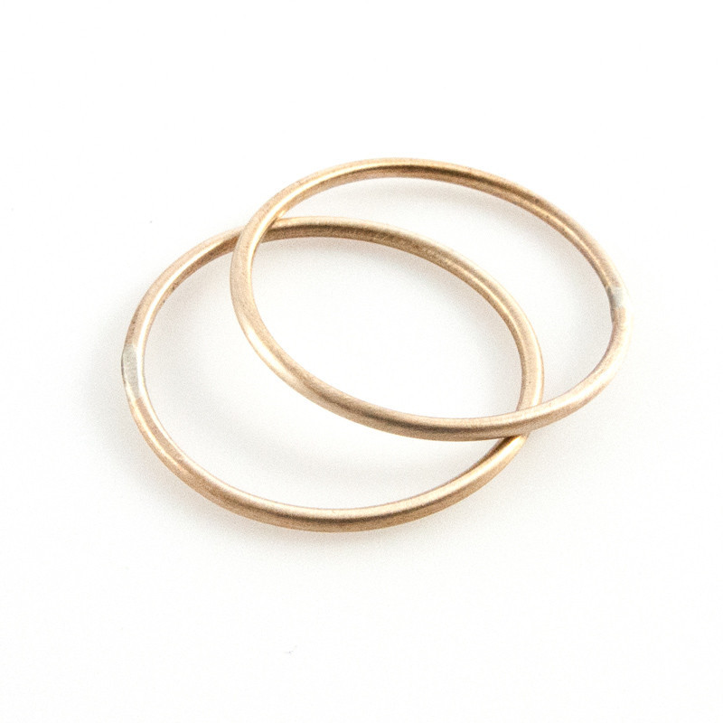 Baleen $28  two-pack Sterling Silver rings