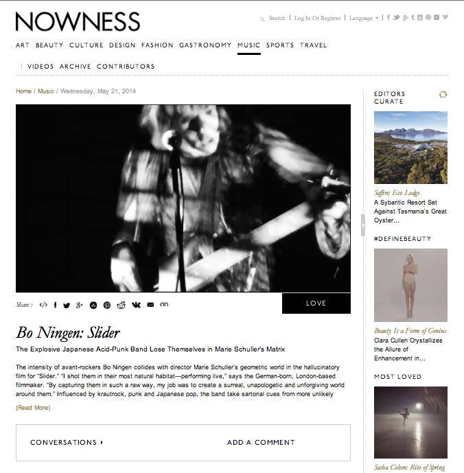 Bo-Ningen-Nowness