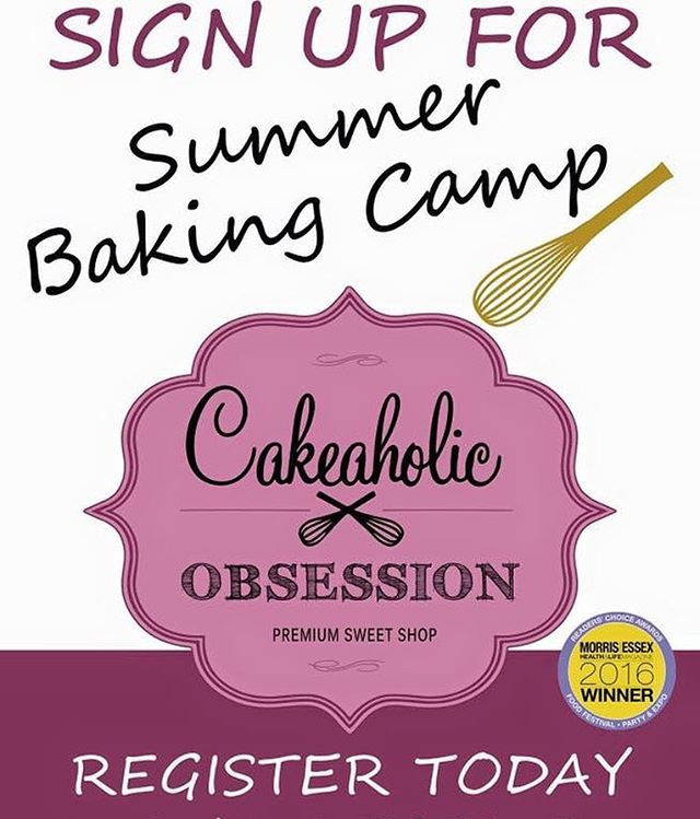 What are the kids doing this summer? Looking for somethings fun and exciting? Look no further 😜  #summercamp #bakingcamp #montclairnj