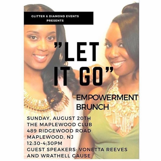 "I have been honored with an invitation to speak at the Let it Go Brunch. Embarking on a new business venture while balancing the day to day of family life are a few of the many obstacles one encounters in the journey towards being an entrepreneur. Join me and the rest of the guest speakers and honorees as we ""let go"" and propel forward. Tickets are available at eventbrite.com . ."
