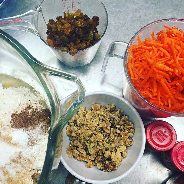 Carrot Cake prep work 😜  Let us do the baking so you can focus on the turkey.  #carrotcake #thanksgivingdesserts