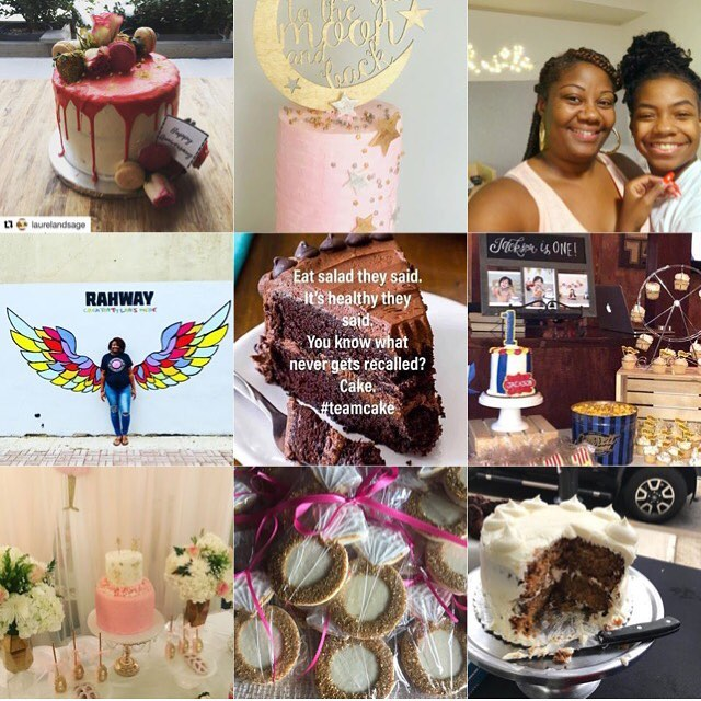 Wow what a crazy year. What does this tell you.  Our customers love us and we love them too. Thank you for allow us to be apart of your celebration. I love what i do. 😘  Stay tune to what we have in-store for you for 2019.  Happy New Years Guys 🎉🍾🎉 #bestnine2018  #cakeaholicobsession