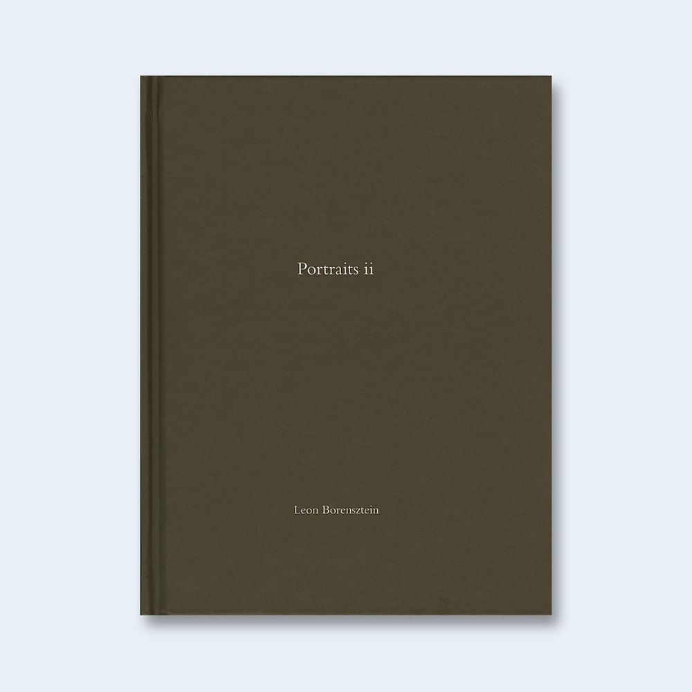 LEON BORENSZTEIN | One Picture Book #76: Portraits ii $100.00