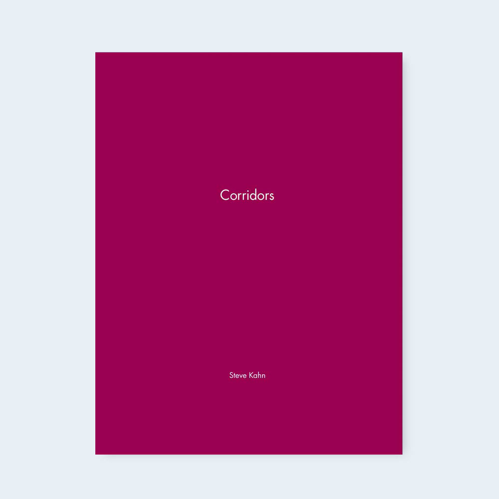 STEVE KAHN | One Picture Book #89: Corridors $50.00