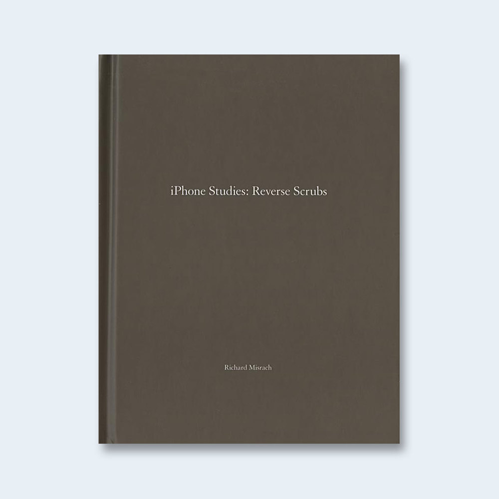 RICHARD MISRACH | One Picture Book #82: iPhone Studies: Reverse Scrubs $150.00