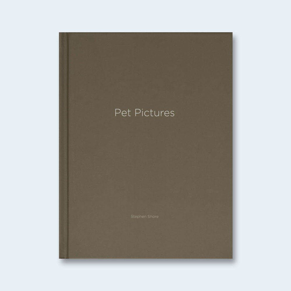 STEPHEN SHORE | One Picture Book #73: Pet Pictures $150.00