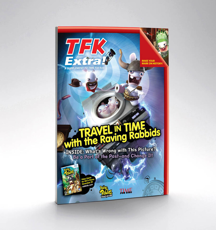 """Ubisoft: """"Rabbids Travel in Time"""""""