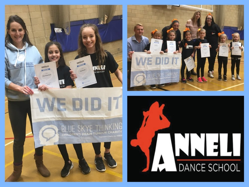 The popular Anneli Dance School, set it's dancers a summer challenge where they were tasked with hosting a fundraising event and the group who raised the most would have the opportunity to choreograph their very own number which would open the show at the big Christmas Showcase Performance!  They had cake sales, danceathons, fun days, sponsored silence, people handcuffed together and face painting.  All of which has raised a whopping total of £1098.97!!!! There were two winners. The Jellytoots girls – Amira, Lola, Rosie, Amelia, Millie, Eloise and Sienna who raised £505 and dance partners Tilly Brook and Tilly Coats-Patel who raised £352.10. Both dances at the showcase were fantastic and were very well received by an appreciative audience. Well done!