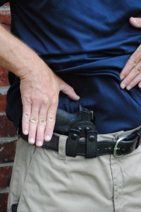 Carrying a gun might be uncomfortable at first, but after a few weeks you will rarely ever notice the gun. You will want to find a carry holster that is comfortable and allows you to carry a gun you would want to fight with.