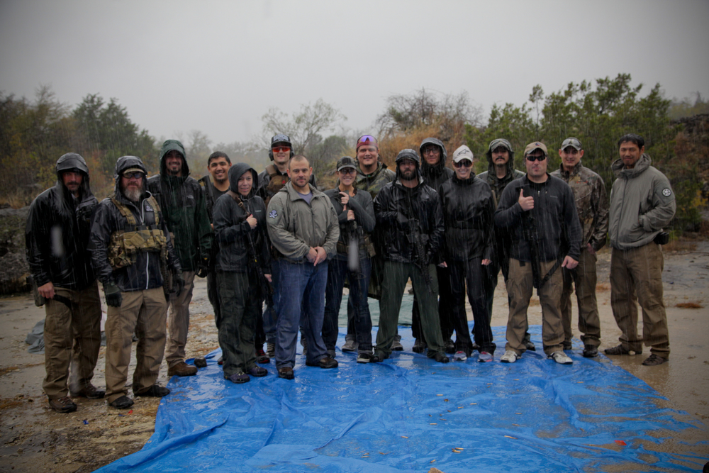 Tactical Rifle Course Austin, TX 2014 Rain or Shine!