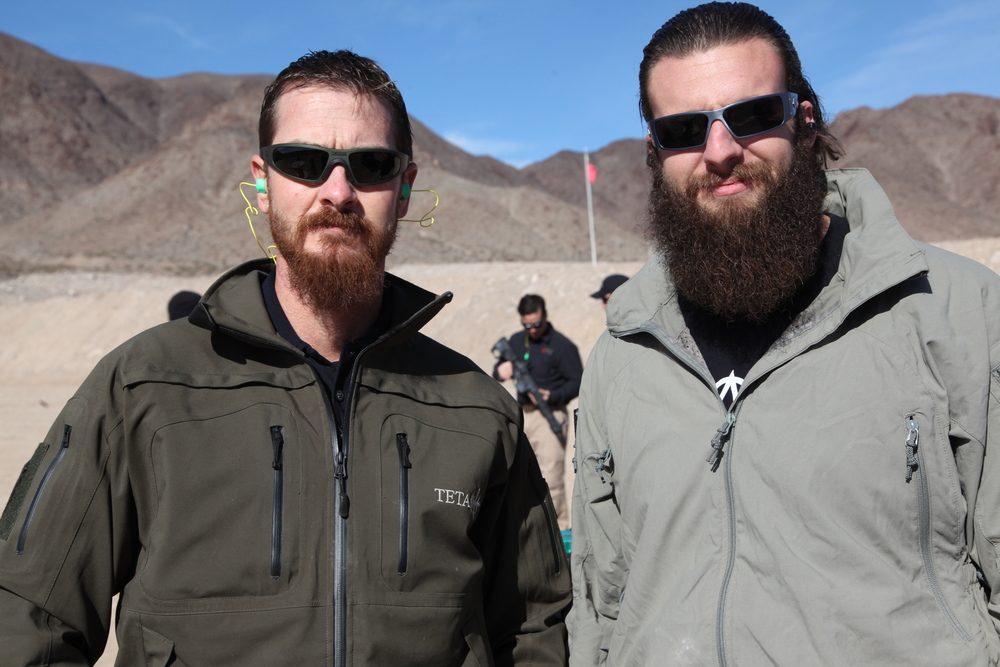 Nick  and  Jeff  at The  Pro Gun Club  in Las Vegas