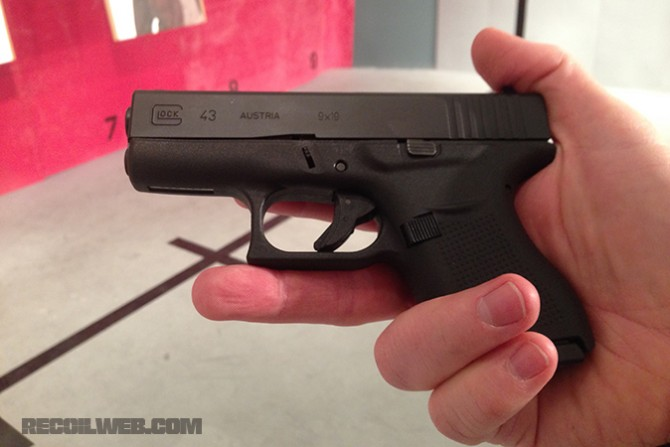 Glock 43 A Single Stack 9mm Pistol At Last Survival Tactical Systems