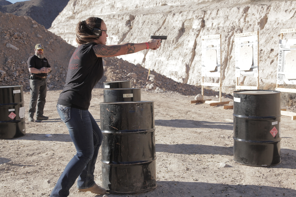 Las Vegas, Tactical Pistol Course
