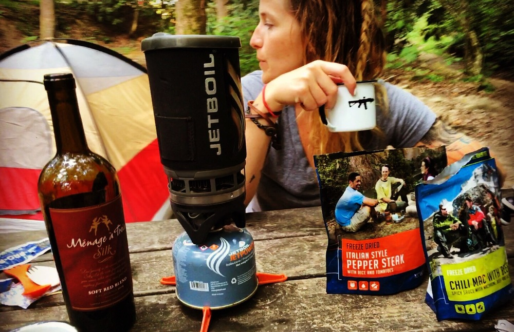 River rat camping. Love that  BRCC Enamel Mug