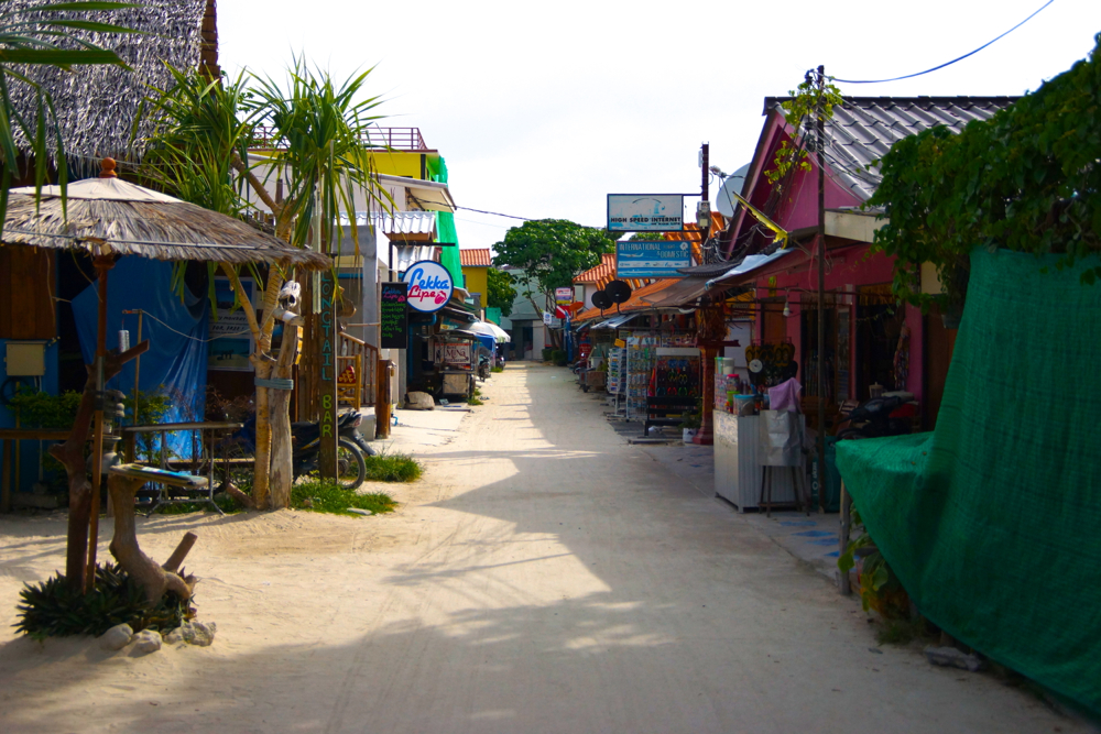 Ko Lipe walking street.