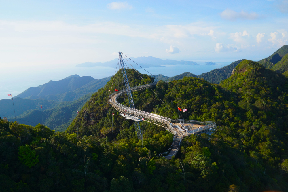 The sky bridge.